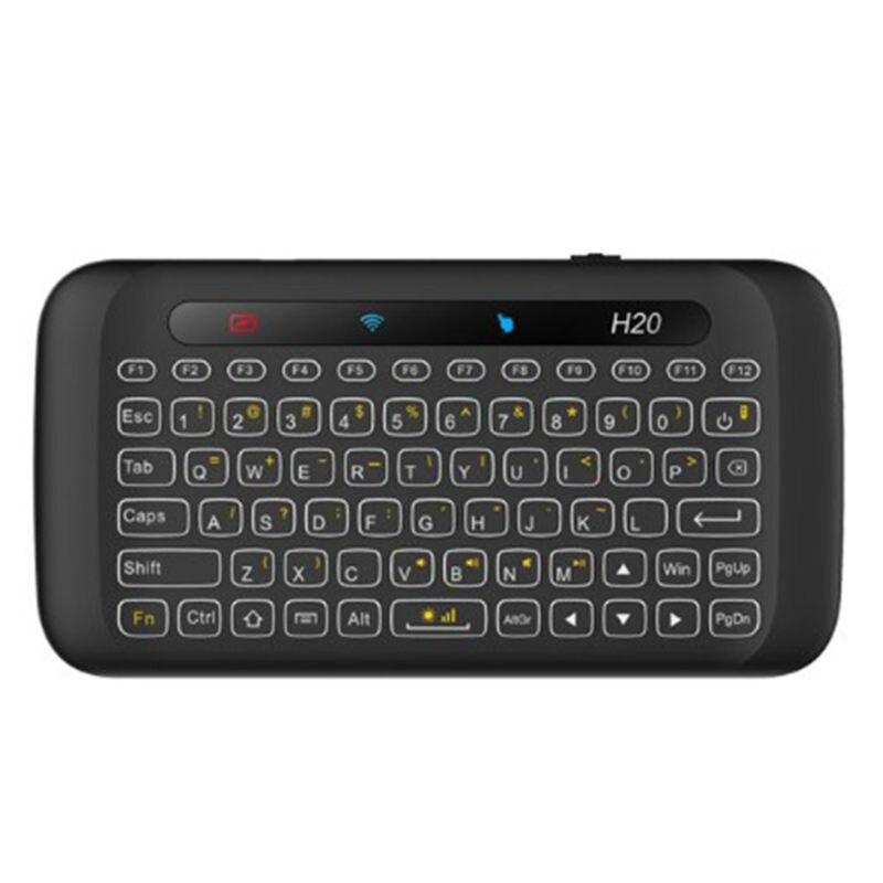 H20 doppelseitige Drahtlose Tastatur Touch-Full-screen Touchpad Air Maus Tastatur