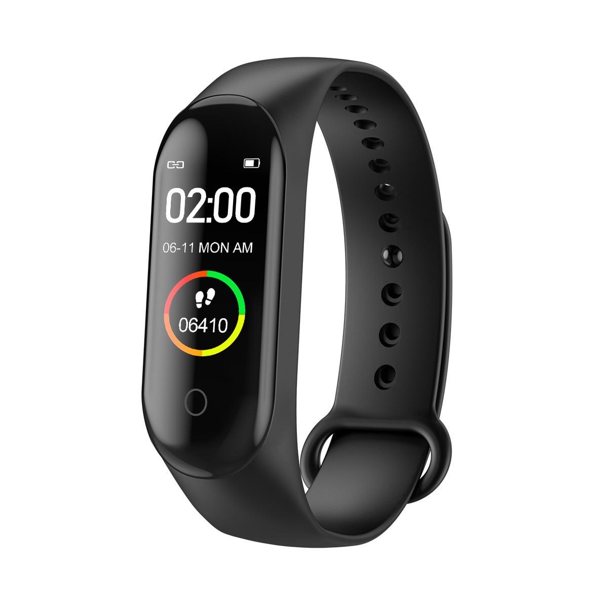 Smart Watch men M4 Fitness Bracelet Bluetooth Waterproof Heart rate Monitor Women Tracker SmartWatch