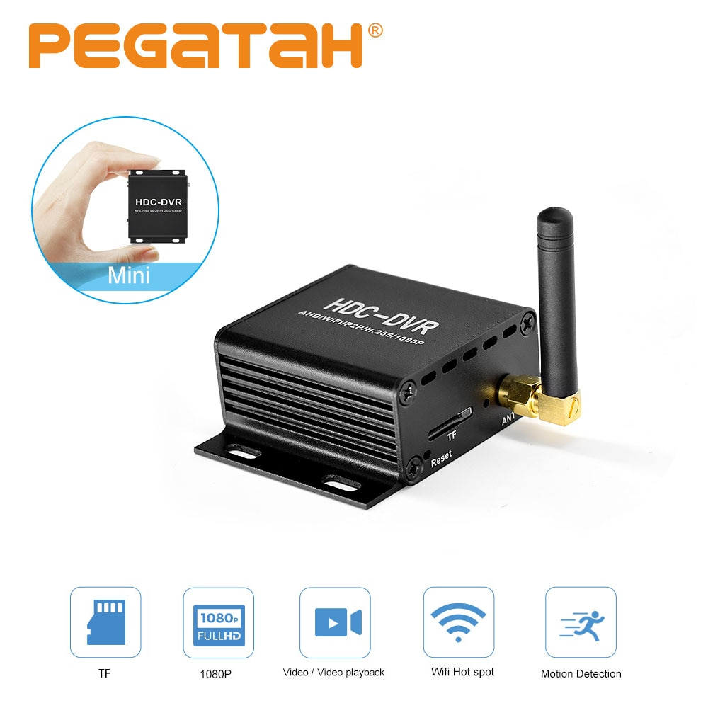 Mini DVR Wifi Video Recorder DVR recorder for cctv camera surveillance1080P ahd dvr recorder video Record Motion Detection Alarm