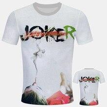 new joker costume 2019 Clown T-shirt Men/women Summer New White Casual Homme Harajuku TShirt Unisex Streetwear joker t shirt