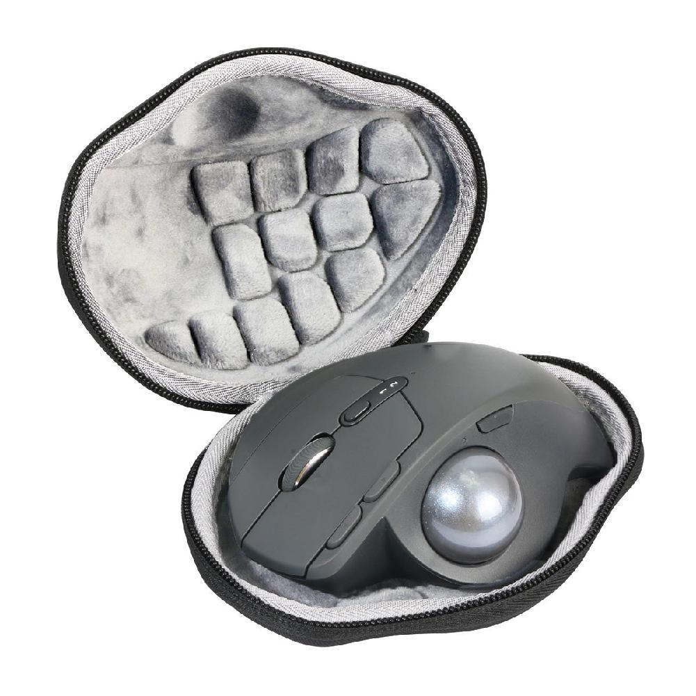 Funda rígida HobbyLane para Logitech MX Ergo, portátil, a prueba de golpes y a prueba de golpes, bolsa de almacenamiento inalámbrica para ratones d20