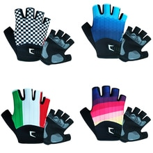 Half Finger Cycling Gloves Breathable Anti Slip Gel Pad  MTB Road Bike Gloves Men Women  Bicycle Out