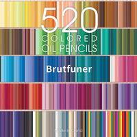 Brutfuner 260/520 Colors Professional Oil Color Pencils Set Sketch Coloured Colored Pencil For Draw Coloring School Art Supplies