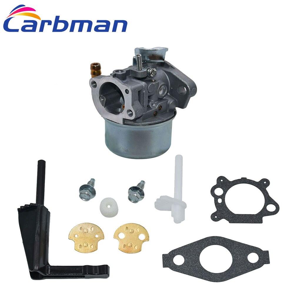 Carbman Carburetor Kit for Briggs & Stratton 591299 798650 698474 791991 698810 698857 Carburador Engine Parts