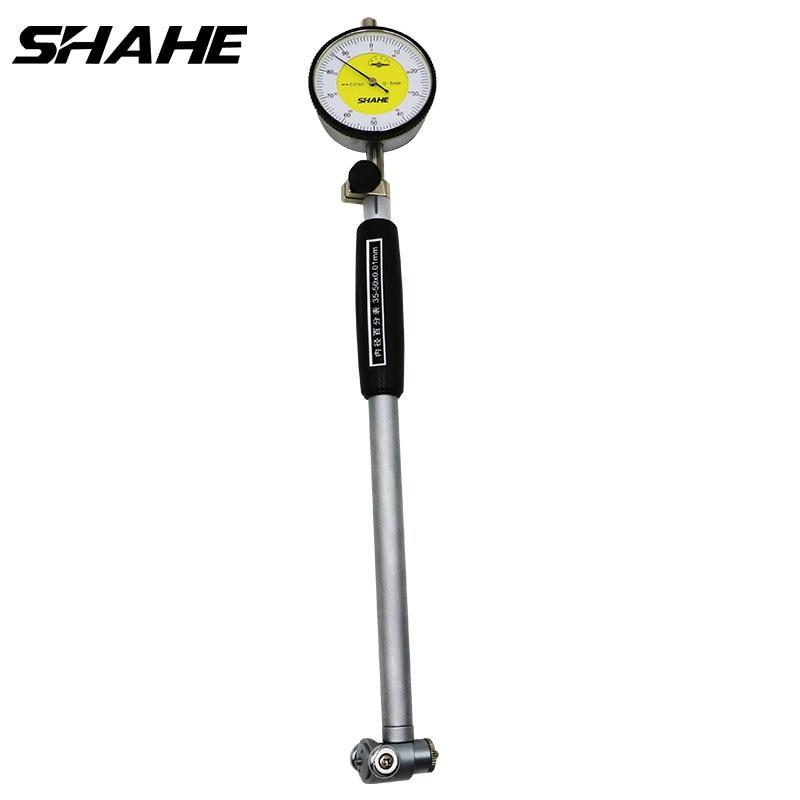 SHAHE 18-35/35-50/50-160 mm  0.01 mm  High Accuracy Dial Bore Gauge Hole Diameter Measuring gauge dial bore gauge
