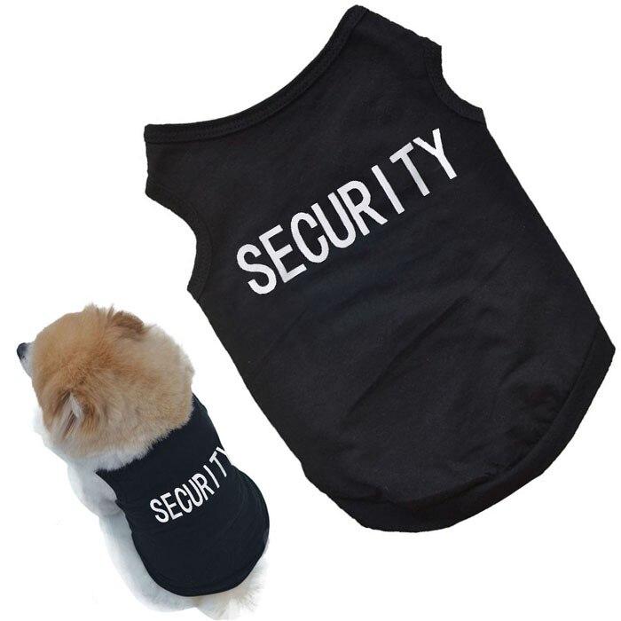 Camiseta de algodón con estampado de perro lindo mascota, ropa para Perros,...