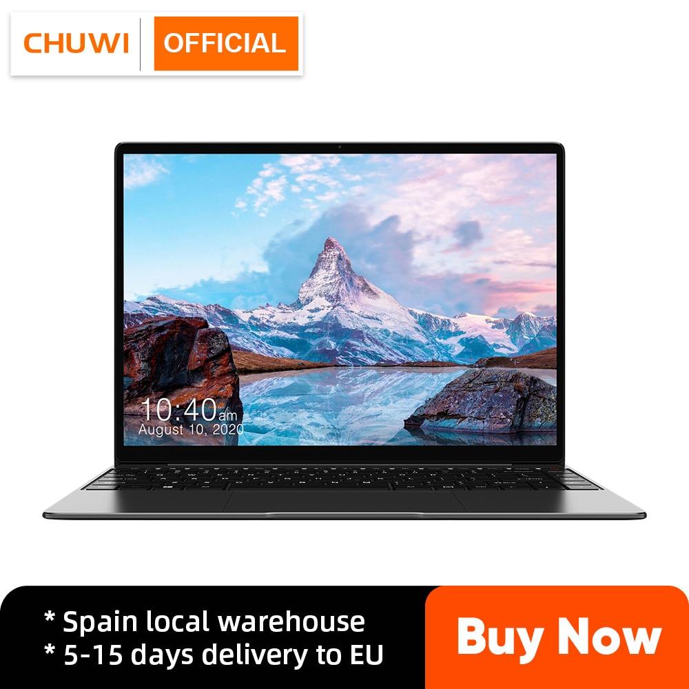 Get Laptop CHUWI GemiBook Pro, 14″ (2160×1440), 3:2 Aspect Ratio, Intel Celeron J4125, UHD Graphics 600, 12GB RAM, 256GB SSD, Win 10
