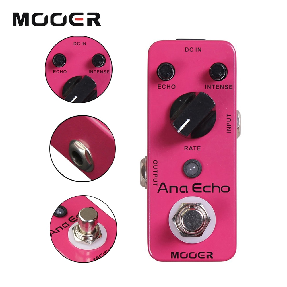 Mooer Mad1 Pedal Guitarra Delay Pe for Electric Guitar Pedals Bass Effects Pedal 20Ms-300Ms Analog Dela Musical Instruments enlarge