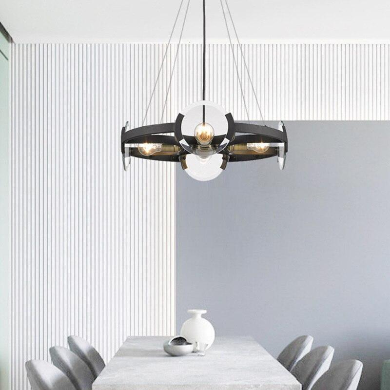 الشمال الحديثة الصناعية قلادة مصباح مصباح إضاءة متدلّي ضوء المطبخ الطعام بار قلادة مصباح مطعم إضاءة داخلية