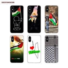 Palästina Flagge Druck Silikon Telefon Fall Für Samsung Galaxy S2 S3 S4 S5 Mini S6 S7 Rand S8 S9 S10 lite J4 J6 Plus 2018 Europa