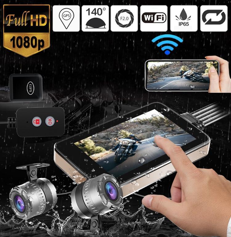 GPS WIFI 128G FHD 1080P Moto Camera 3
