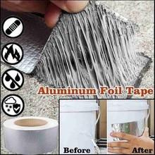 Bande spéciale de papier daluminium de caoutchouc auto-adhésif butylique de cachetage imperméable de 1pc pour la réparation multifonctionnelle de fissure de toit