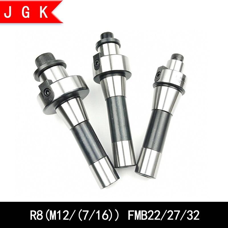 R8 FMB22 FMB27 FMB32 Thread 7/16 M12 tool holder r8-fmb22 r8-fmb27 r8-fmb32 for bap400r/bap300r,emt5r,emr6r face mill cutter