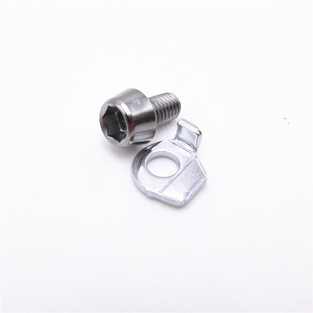 Shimano задний переключатель кабеля, крепежный болт и пластина Y5X798010 Y3E498050