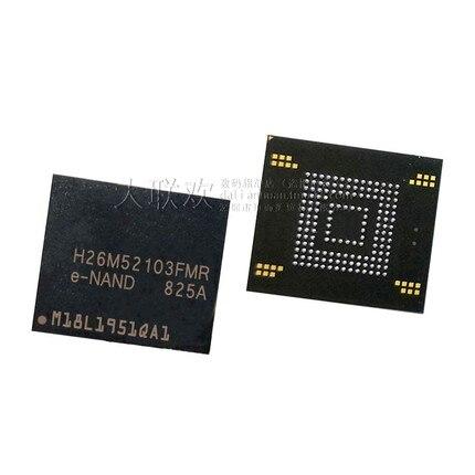 100% nuevo Original H26M52103FMR 16GB BGA eMMC H26M52103FMRE-NAN (1-10 piezas)