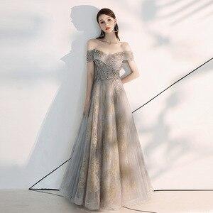 Evening Dress Formal Evening Dress Elegant Boat Neck Banquet Dress Luxury Appliques Evening Dress Custom Size Prom Dress