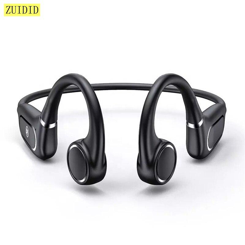 H12 Wireless Bluetooth Bone Conduction Earphones Stereo Earbuds Sport Waterproof Headphone Noise Can