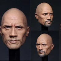 eleven 16 mr stone johnson head carved soldier doll model hand made head sculpt for 12 inch body in stock