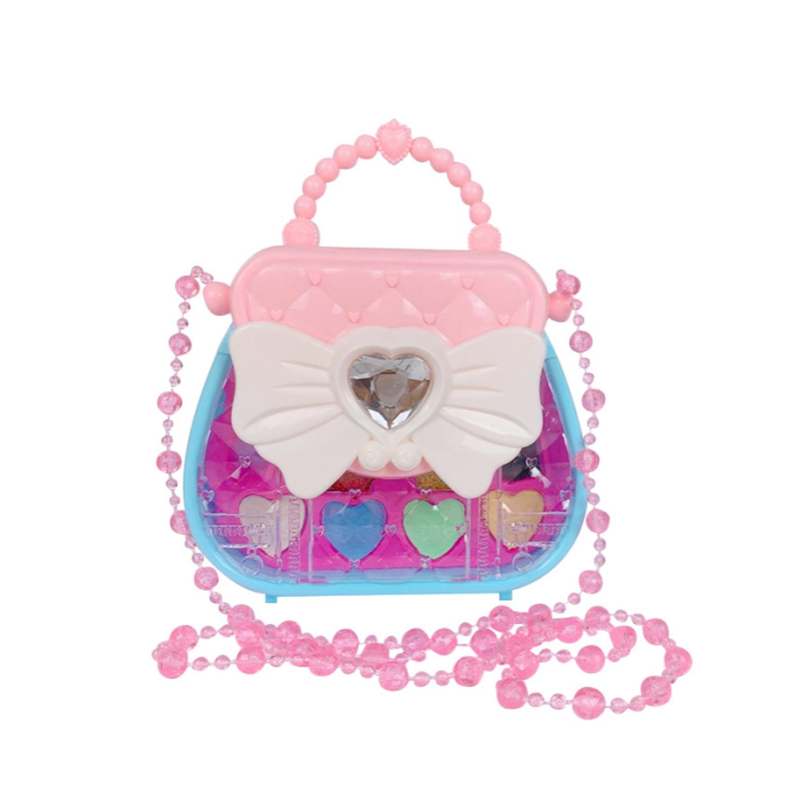 Детский набор для макияжа, ролевая игра, моющийся набор для макияжа, подарочный набор для макияжа, косметический набор для принцессы, ролева...