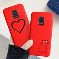 candy color phone case for xiaomi redmi note 9 funda xaomi redmi note 10 pro max 7 8t 9t 5a prime 4x silicone case back cover