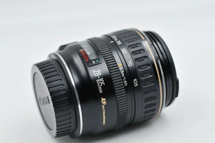 مستعملة كانون EF 28-105 مللي متر ل 3.5-4.5 USM ستاندرد زووم عدسات لكاميرات كانون SLR
