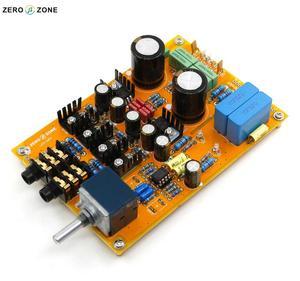 Hifi upgraded Headphone amplifier board / kit / Pcb preamp board base on Lehmann amp