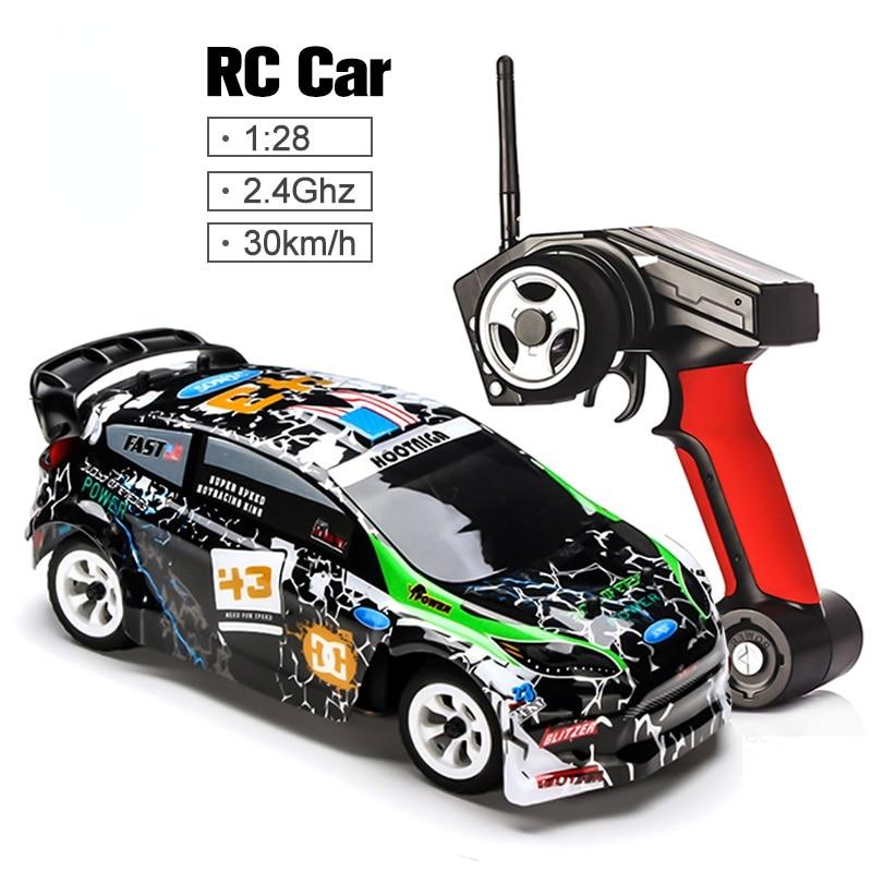 1/28 2.4G 4WD Car Brushed RC Remote Control Car Racing Car RTR Drift Alloy Off Road Car Crawler Toys Models