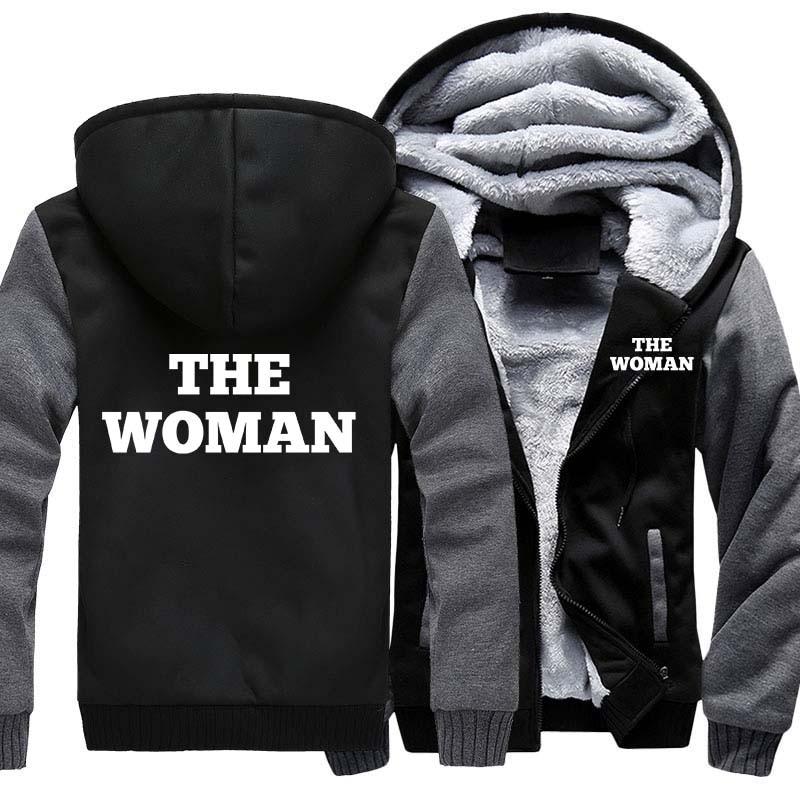 Sudadera con capucha de invierno de talla estadounidense para hombre y mujer, chaqueta con cremallera, sudaderas informales, sudaderas gruesas, Sudadera con capucha, abrigo