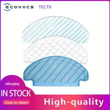 ECOVACS T9 Accessory Washable Mop Cloth Disposible Mop Cloth Microfiber Mopping Pad for Deebot T8 Ma
