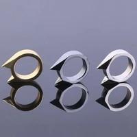 unisex ring ring cat ear ring window breaker useful universal self defense lovely self defense ring