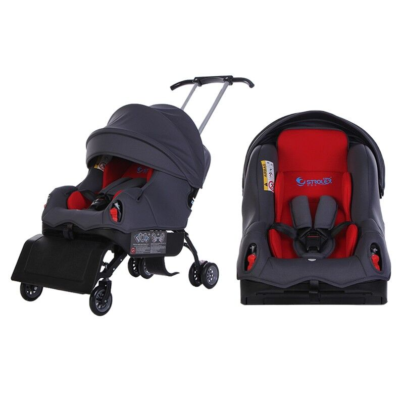 Baby Stroller Car Seat Child Safety Seat Baby Car Booster Seat 0-4 Years Old Baby Sleeper Trolley enlarge
