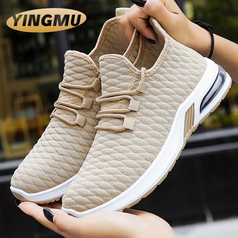 Женская обувь, новинка 2021, женская обувь на воздушной подушке, повседневная женская обувь, спортивная обувь с мягкой подошвой, женская обувь...