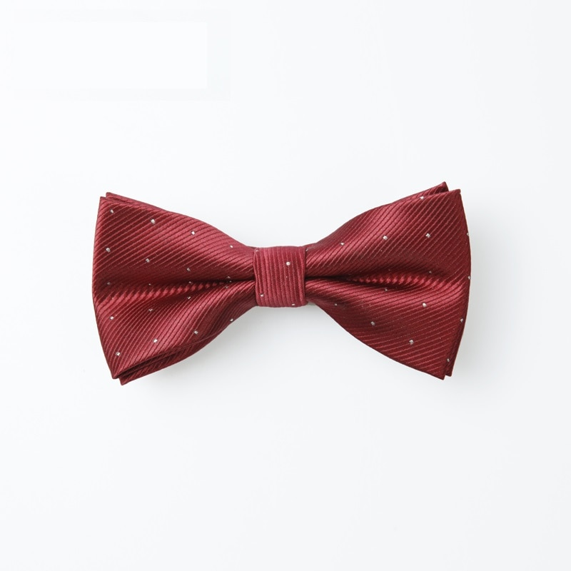 Brand New Bow Tie For Men Fashion Solid Color Bowtie Great For Party And Wedding Men's Dress Shirt Neck Ties  Butterfly Knot tie