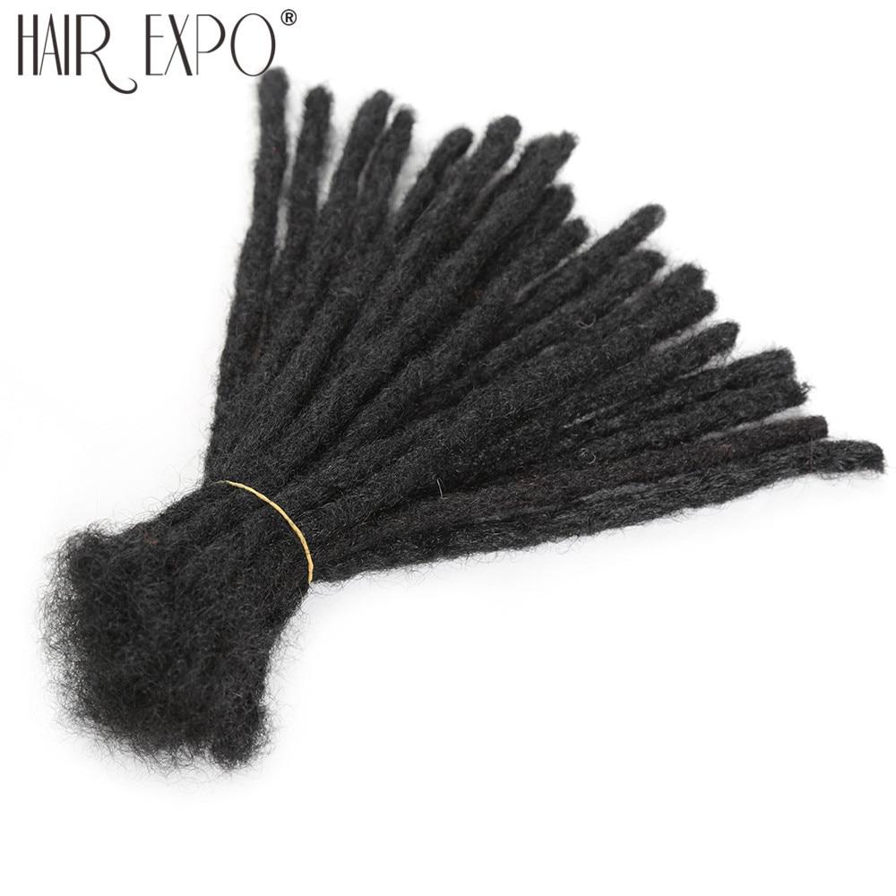 Handmade Dreadlocks Synthetic Wigs Extensions Black Reggae Wig Crochet Braiding Hair For Afro Women And Men Hair Expo City