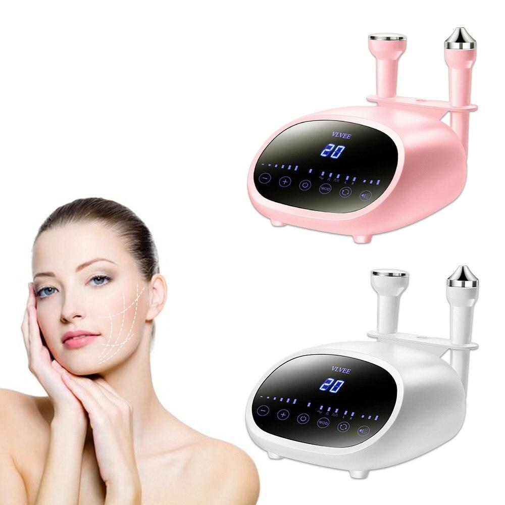جهاز تجميل الوجه بالموجات فوق الصوتية جهاز رفع الجسم مدلك الوجه الجلد تشديد العين العناية بالبشرة جهاز الجمال