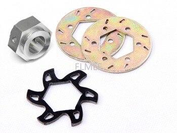 CNC углеродное волокно тормозной разделитель для бусин в форме диска и тормозной рукав подходит для 1/5 HPI ROVAN ROFUN KM GTB TS BAJA 5B 5T 5SC