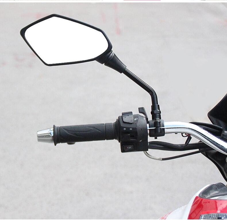 Motorcycle Accessories Moto Mirror 8mm 10mm For suzuki rmz 250 burgman 125 gsx250r sv 650 dr 650 vstrom dl650 katana gsx600f
