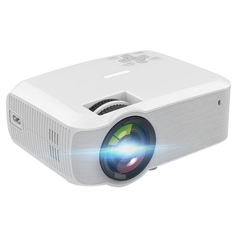 T23 projecteur maison 1080P Full HD projecteur sans fil petit téléphone intelligent même Sn projecteur 3300 Lumens (prise ue)