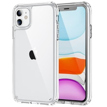 Luxury Transparent Armor Hard PC Phone Case For Iphone 12 11 Pro Max 12 Mini 7 8 Plus SE 2020 Clear