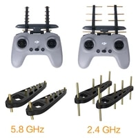 signal amplifier for dji fpv antenna remote controller signal booster antenna range extender 2 4ghz and 5 8ghz range accessories
