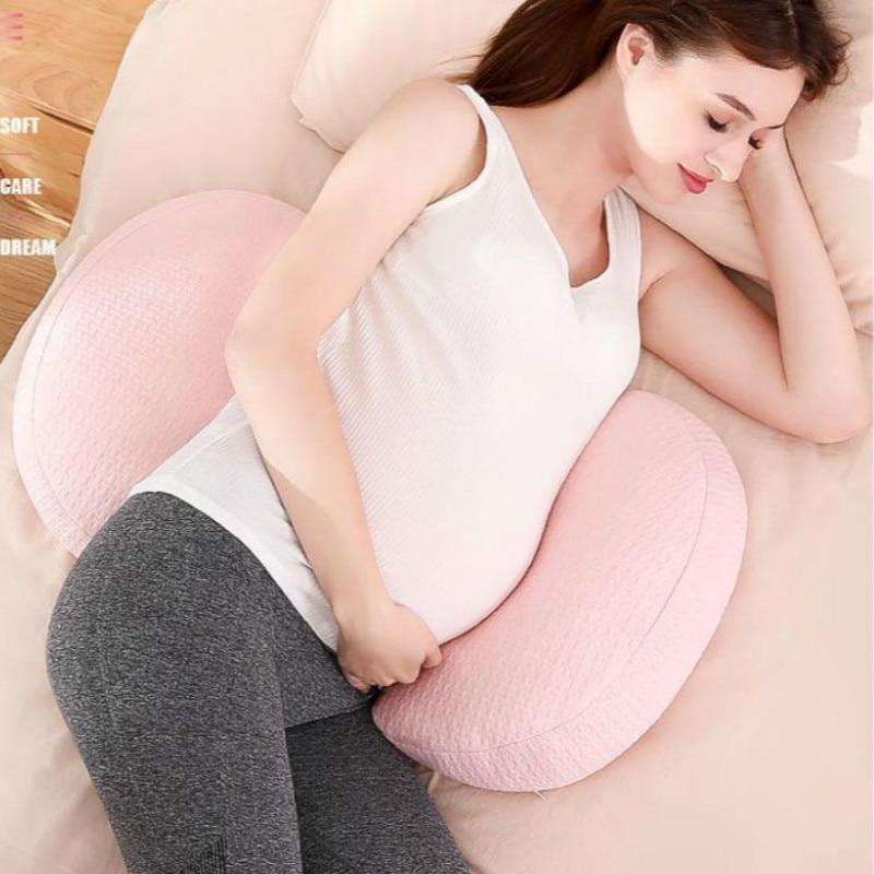 وسادة نوم على شكل حرف U ، داعم للخصر ، للنساء الحوامل ، قطعة أثرية ، دعم البطن ، مستلزمات الأمومة ، F8150