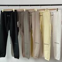 2020ss carls men sweatpants reflective letter print casual fashion trousers autumn spring hip hop joggers