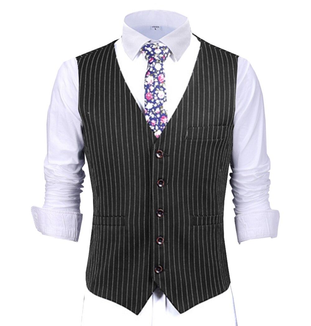 Terno masculino colete formal negócio listra colete verde limão melhor homem casaco para casamento, borgonha/preto/azul real/azul marinho