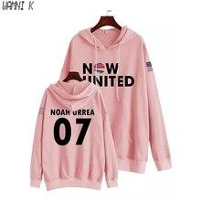 WAMNI 2020 Now United Hoodie Sweatshirts Men Women USA Flag United Noah Urrea 07 Pullover Unisex Harajuku Tracksui