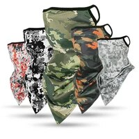 ourdoor army military ice silk triangle scarf cycling bandana hiking camping hunting running army bicycle tactical neck gaiter