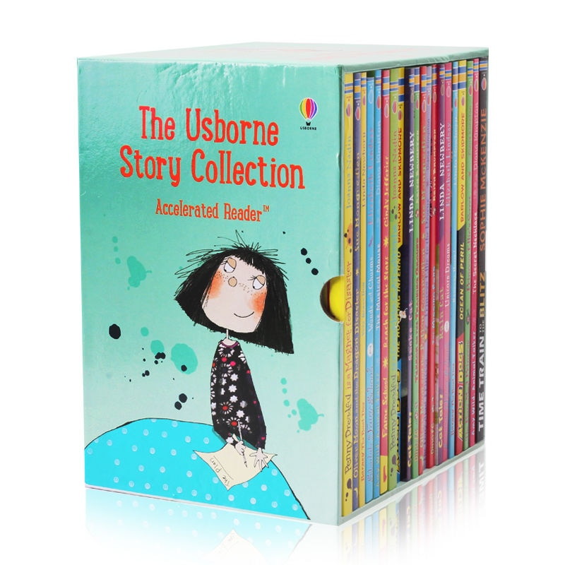 20 Books  English Usborne Books For Children Kids Picture Books English Chapter Book Collection Baby Story Book