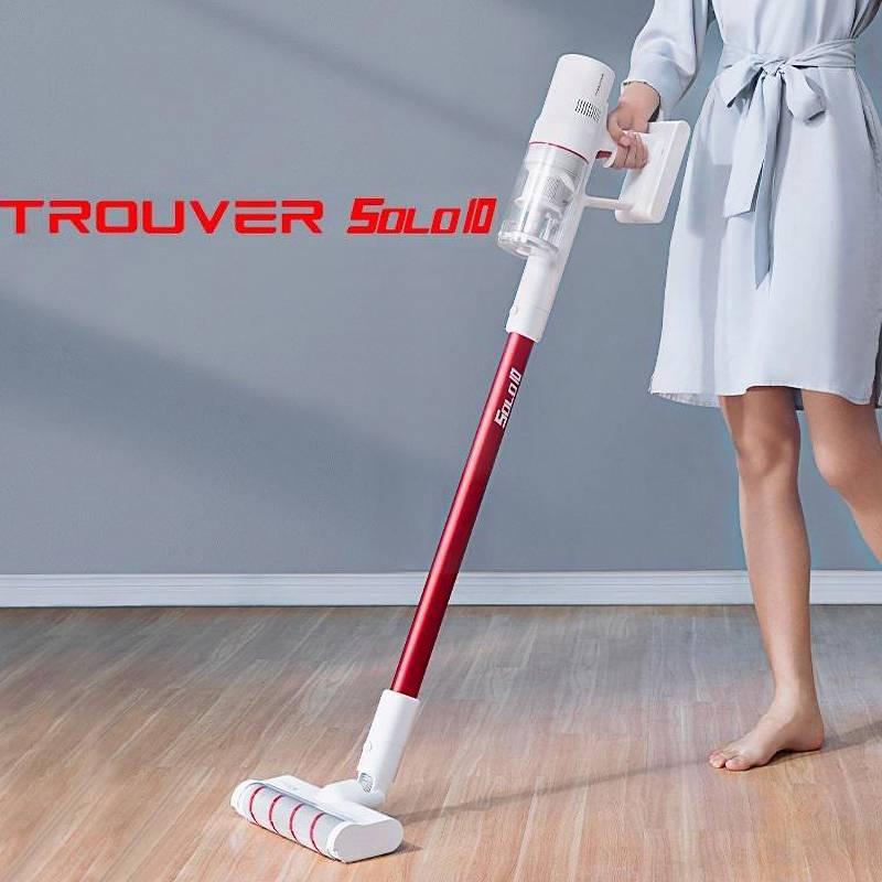 جديد TROUVER يد مكنسة كهربائية سولو 10 للمنزل سيارة لاسلكية الاجتياح فرشاة متعددة الوظائف 18000Pa إعصار شفط الغبار