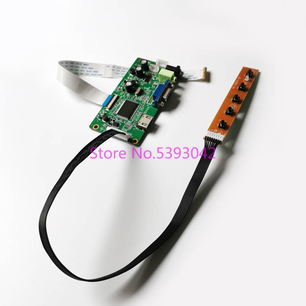 "Para NV156FHM-N41/n42/n43/n45/n46 hdmi vga monitor controlador placa motorista portátil tela lcd 1920*1080 edp 30 pinos 15.6 ""kit diy"