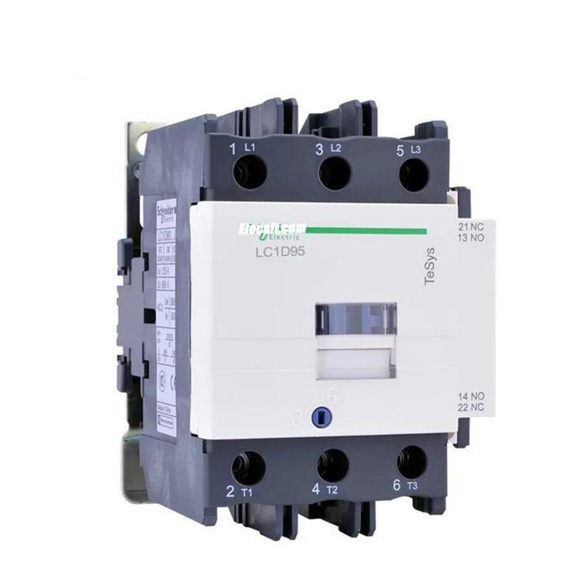 Nuevo Contactor eléctrico Original LC1D95M7C LC1-D95M7C carga 95A 45KW estándar TeSys envío gratis