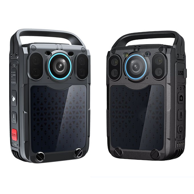 عالية الجودة تعزيز 4G واي فاي يرتديها تسجيل كاميرا كاميرا يمكن حملها بالجسم الشرطة يرتديها